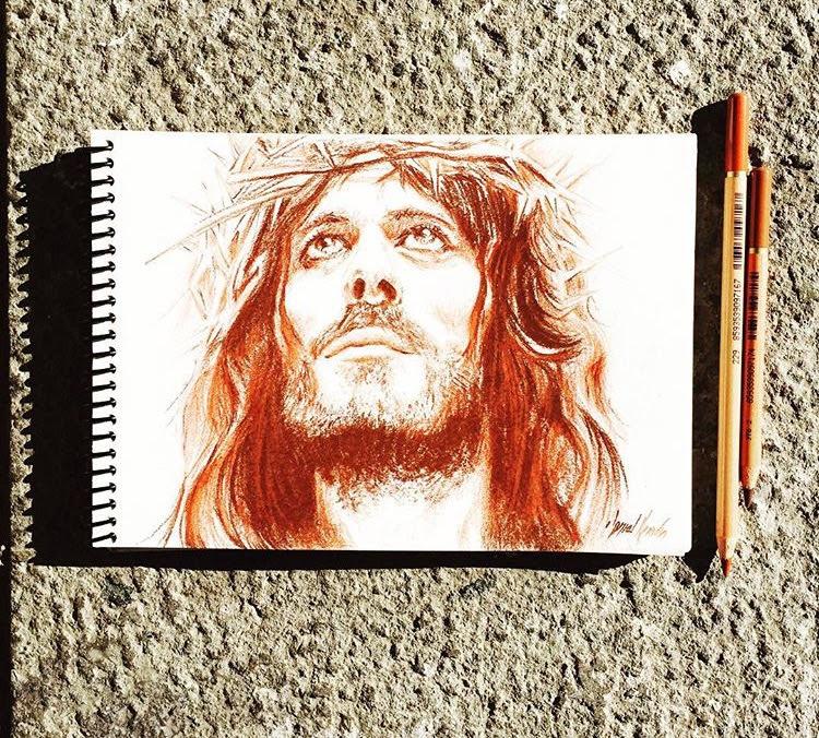 Jesus / Sepia / A5